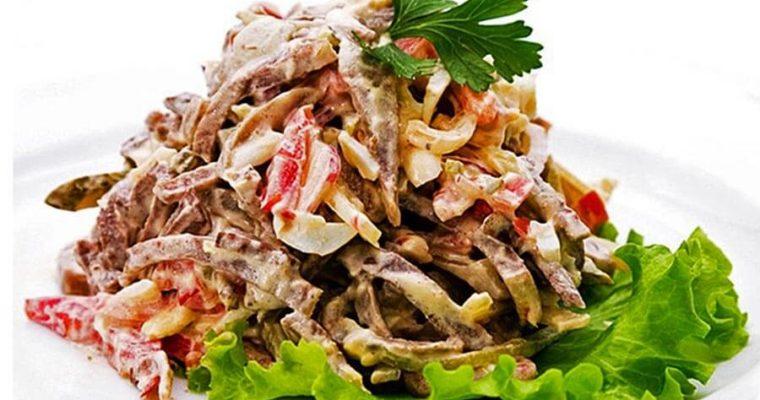Mujskoy kapriz salati tayyorlash retsepti — usullari, restorancha varianti