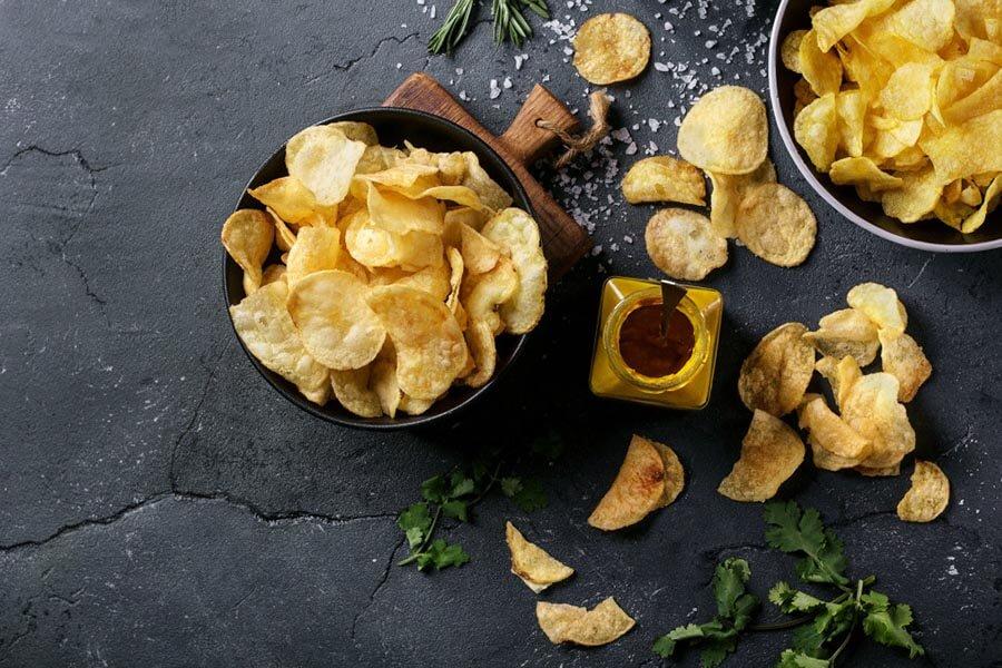Kartoshka chips tayyorlash retsepti